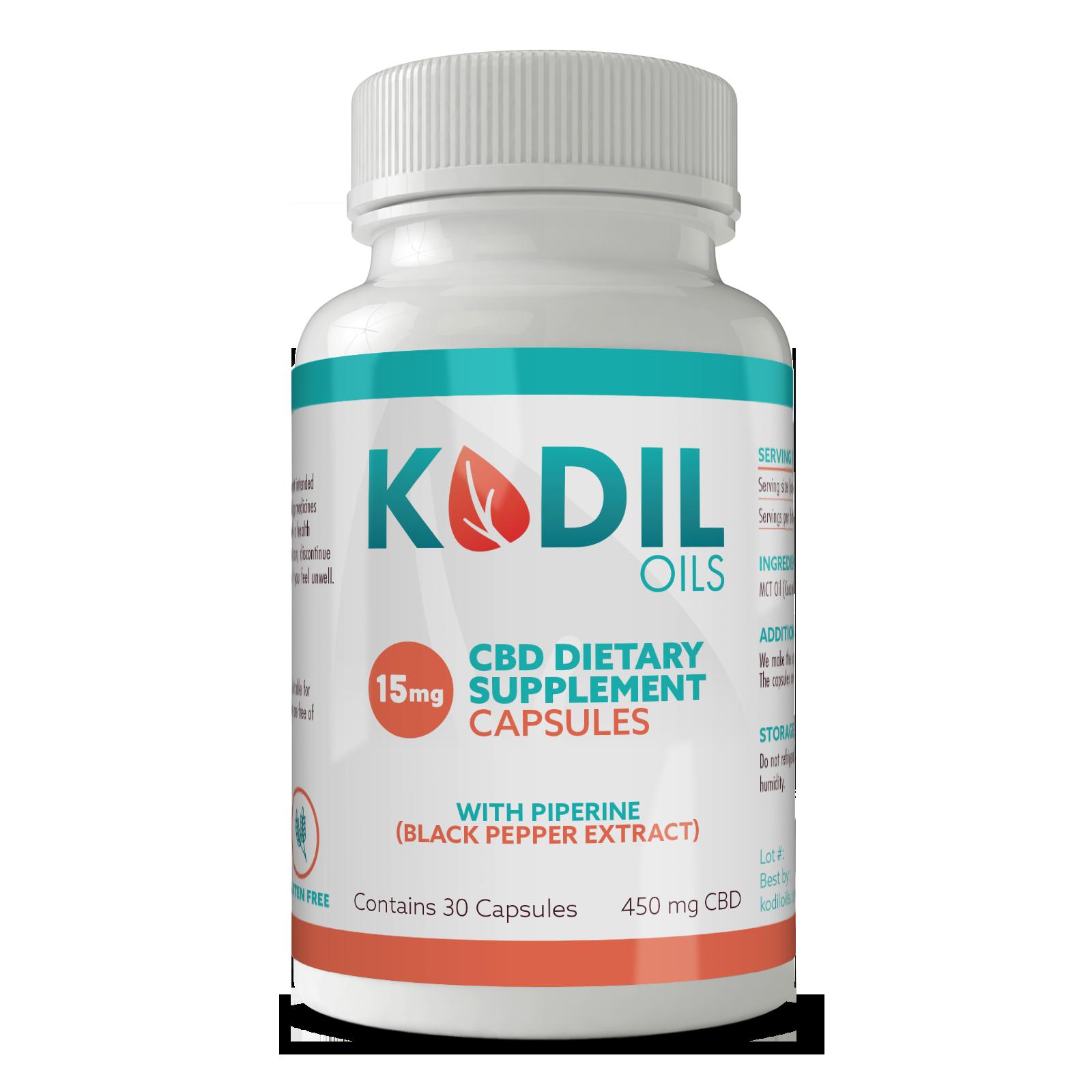 Kodil Oils 15% Lab Results